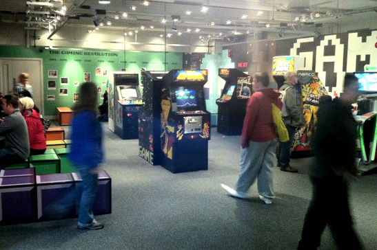 Inside the new Games Lounge
