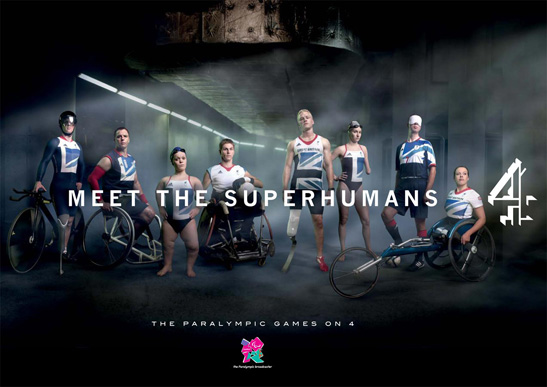 """Meet the Superhumans"" Channel 4 Paralympic Games 2012 advertisement"