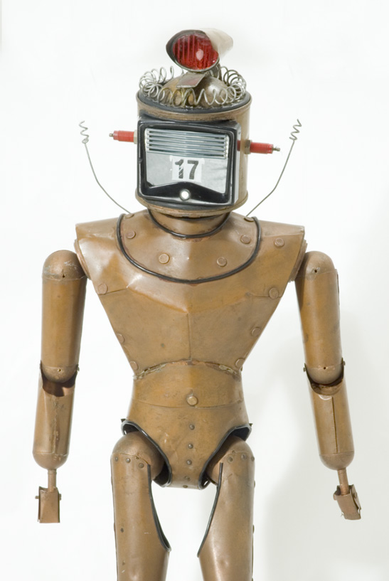 Robot puppet from Thunderbirds, c. 1965, National Media Museum Collection