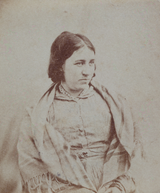 Portrait of a patient, Surrey County Asylum, c. 1855, Dr. Hugh Welch Diamond, The Royal Photographic Society Collection, National Media Museum