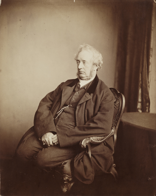 Portrait of Dr. Hugh Diamond, 1869, Henry Peach Robinson, The Royal Photographic Society Collection, National Media Museum