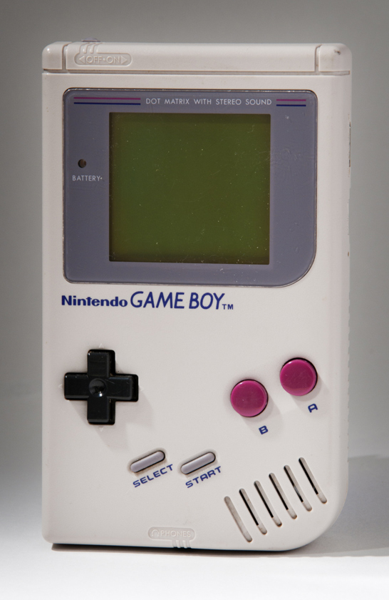 Nintendo Game Boy handheld console, model DMG-01, 1989, Nintendo Company Ltd, National Media Museum Collection / SSPL