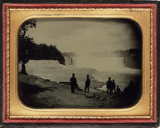 Babbitt's view of Niagra, c. 1860, Platt D. Babbitt, National Media Museum Collection