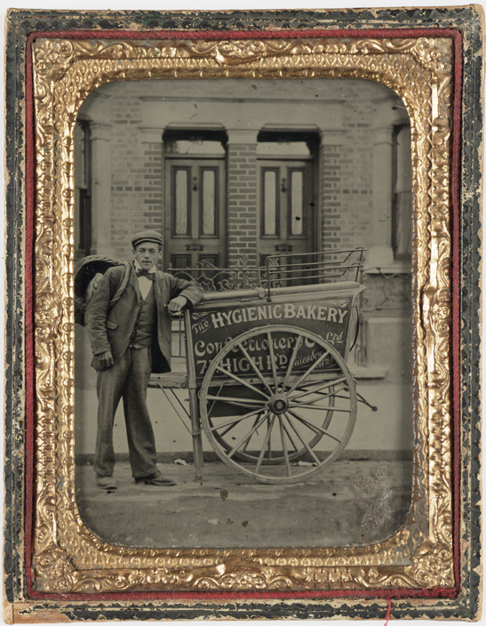 Baker's boy, c. 1860, National Media Museum Collection