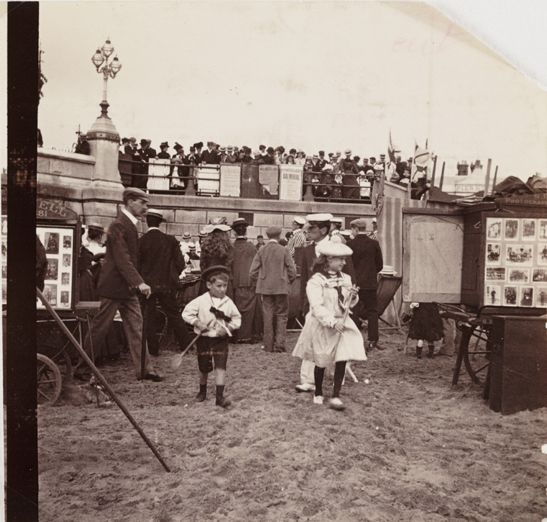 Beach photographers, c. 1885, National Media Museum Collection