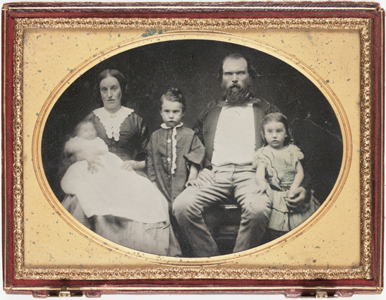 Family group, c. 1860, National Media Museum Collection