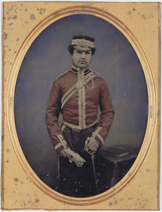 Officer, c. 1860, National Media Museum Collection