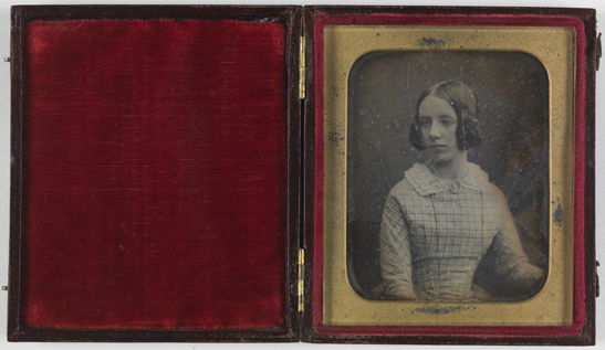 Portrait of a woman, c. 1846, Antoine Francois Jean Claudet, The Royal Photographic Society Collection, National Media Museum