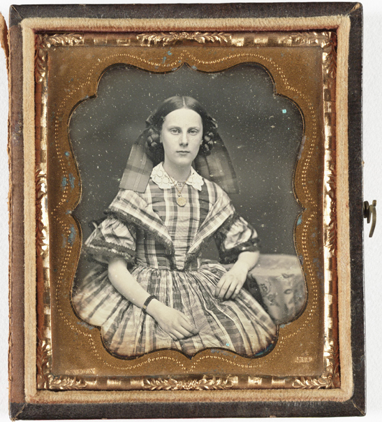 Portrait of a young woman, c. 1860, Rufus Anson, The Royal Photographic Society Collection, National Media Museum