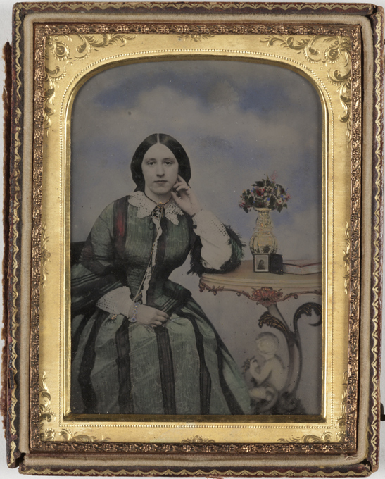 Portrait of a young woman, c. 1860, National Media Museum Collection