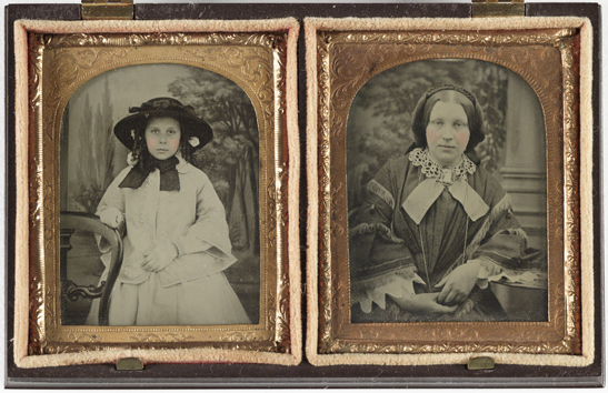 Portrait of a young girl and portrait of a woman, c. 1860, The Royal Photographic Society Collection, National Media Museum