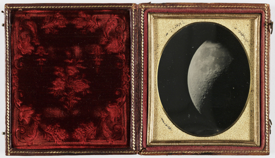 The Moon, 1851, John Adams Whipple and George Phillips Bond, National Media Museum Collection