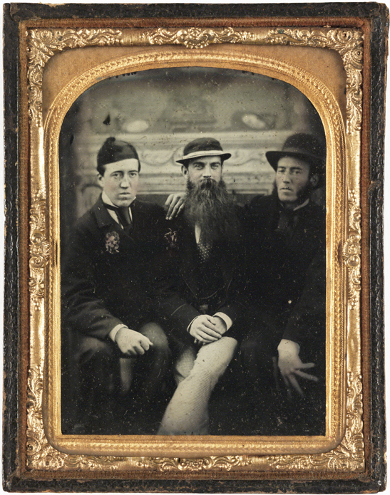 Three friends, c. 1860, National Media Museum Collection