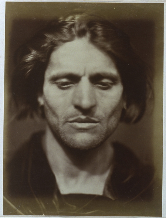Iago - study from an Italian, 1867, Julia Margaret Cameron, National Media Museum Collection