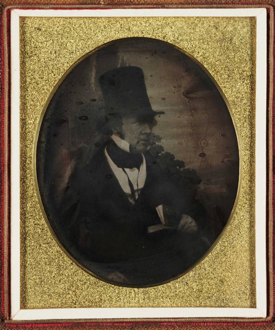 William Henry Fox Talbot, c. 1844, Antoine Claudet, The Royal Photographic Society Collection, National Media Museum