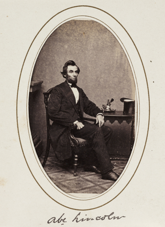'Abe Lincoln', c.1863, Matthew Brady, National Media Museum Collection