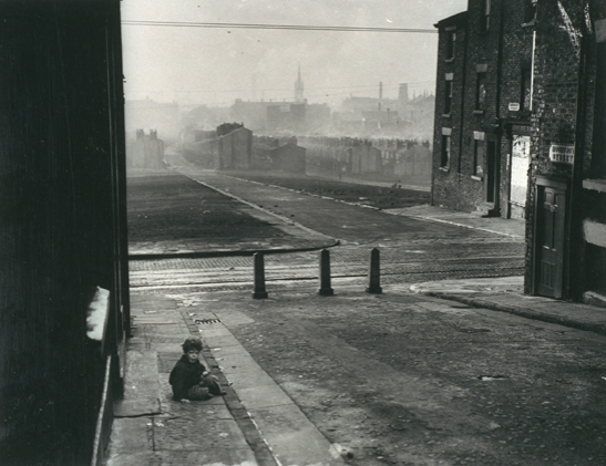 Child in a Liverpool slum housing area, 21 November 1949, White, Daily Herald Archive, National Media Museum Collection / SSPL