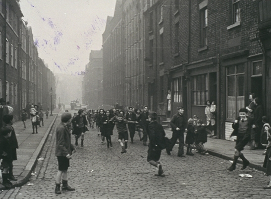 Children playing in the streets of Liverpool's Chinatown, 20 November 1933,  Haywood Magee, Daily Herald Archive, National Media Museum Collection / SSPL