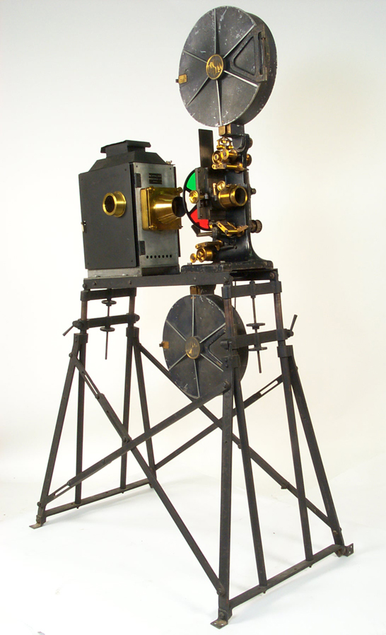 Kinemacolor 35mm projector, 1910, The Natural Color Kinematograph Company Ltd, National Media Museum Collection / SSPL