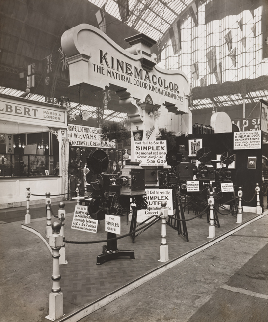 Kinemacolor stand, National Media Museum Collection / SSPL