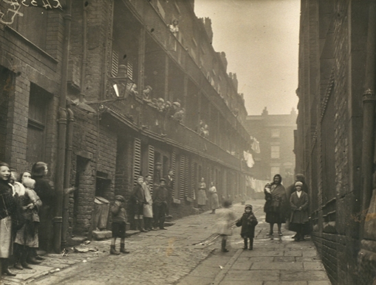 'Liverpool slums', 1933, Bishop Marshall, , Daily Herald Archive, National Media Museum Collection / SSPL