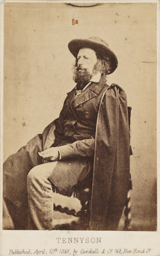 'Tennyson', 1861, National Media Museum Collection