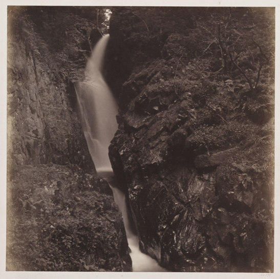Aira Force, Ullswater, 1860, Roger Fenton, The Royal Photographic Society Collection, National Media Museum / SSPL. Creative Commons BY-NC-SA