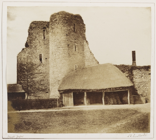 'Allington Castle, Kent', c.1855, Lady Caroline Emily Nevill, The Royal Photographic Society Collection © National Media Museum, Bradford / SSPL. Creative Commons BY-NC-SA
