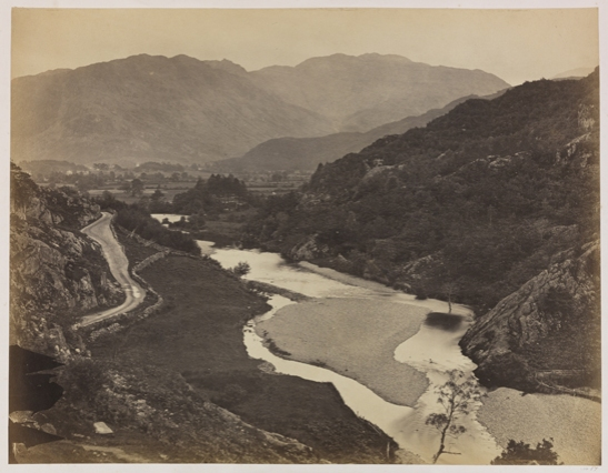 Borrowdale from the Boulder Stone, c. 1856, Roger Fenton, The Royal Photographic Society Collection, National Media Museum / SSPL. Creative Commons BY-NC-SA
