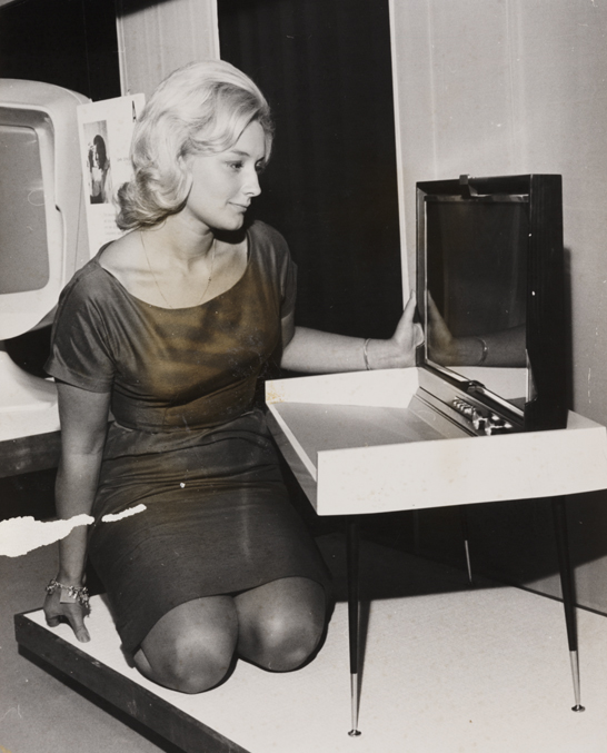 'Fold-Away TV of the Future', 1961, Reuter Press Agency © National Media Museum, Bradford / SSPL. Creative Commons BY-NC-SA