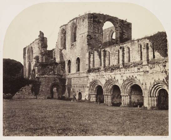 Furness Abbey from the South West, 1860, Roger Fenton, The Royal Photographic Society Collection, National Media Museum / SSPL. Creative Commons BY-NC-SA