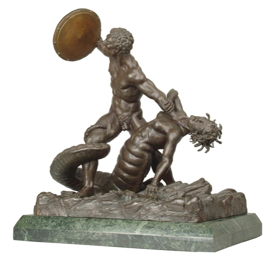 Medusa bronze statuette © Ray and Diana Harryhausen Foundation