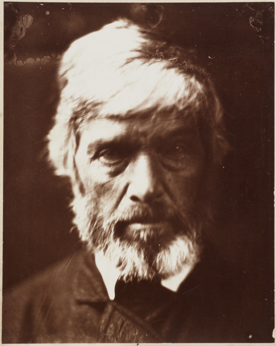 'Carlyle like a rough block of Michel Angelo's Sculpture', 1867, Julia Margaret Cameron, The Royal Photographic Society Collection © National Media Museum, Bradford / SSPL. Creative Commons BY-NC-SA