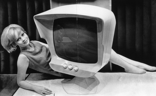 'Preview of the Radio Show 1961 - TV of the Future', 1961, Ron Burton © National Media Museum, Bradford / SSPL. Creative Commons BY-NC-SA