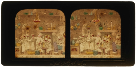 Les Cuisines de Satan [Satan's Kitchens], back lit, 1868, National Media Museum, Bradford / SSPL. Creative Commons BY-NC-SA