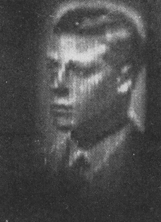 The portrait of the Prince of Wales (later Edward VIII) as it would have appeared on the Model 'A' Televisor.