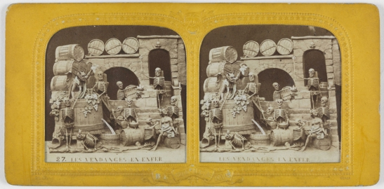 Les Vendenges en Enfer [The Grape Harvest in Hell], front lit, 1868, National Media Museum, Bradford / SSPL. Creative Commons BY-NC-SA