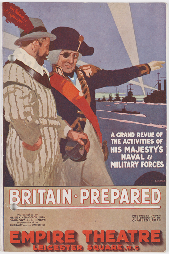 Brochure for Britain Prepared, 1915 © National Media Museum, Bradford / SSPL. Creative Commons BY-NC-SA