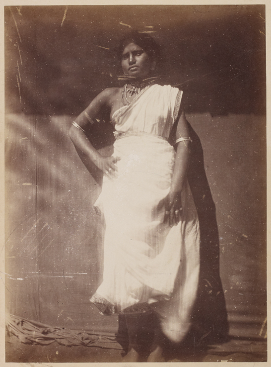 'A Singhalese Girl', c. 1866, Julia Margaret Cameron, The Royal Photographic Society Collection © National Media Museum, Bradford / SSPL. Creative Commons BY-NC-SA
