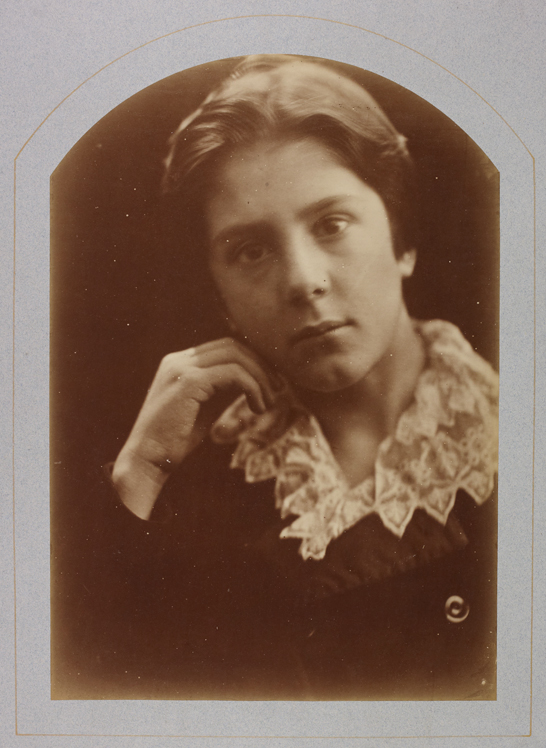 'A Study', c. 1870, Julia Margaret Cameron, The Royal Photographic Society Collection © National Media Museum, Bradford / SSPL. Creative Commons BY-NC-SA