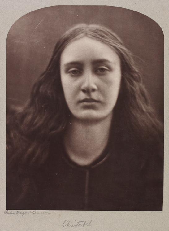 'Christabel (Miss May Prinsep)', 1866, Julia Margaret Cameron, The Royal Photographic Society Collection © National Media Museum, Bradford / SSPL. Creative Commons BY-NC-SA