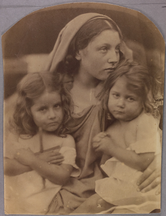 'Holy Family (Woman with two children)', 1872, Julia Margaret Cameron, The Royal Photographic Society Collection © National Media Museum, Bradford / SSPL. Creative Commons BY-NC-SA