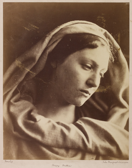 'Mary Mother', c. 1868, Julia Margaret Cameron, The Royal Photographic Society Collection © National Media Museum, Bradford / SSPL. Creative Commons BY-NC-SA