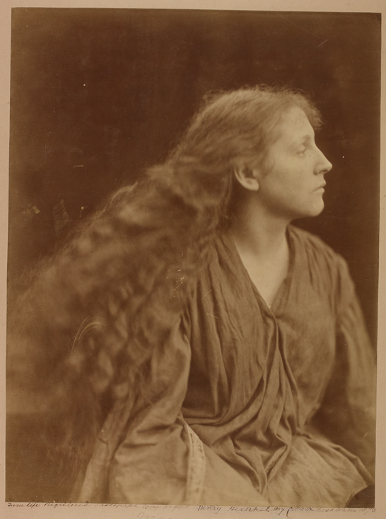 'Miss Philpott or Mary (May) Hillier', 1873, Julia Margaret Cameron, The Royal Photographic Society Collection © National Media Museum, Bradford / SSPL. Creative Commons BY-NC-SA