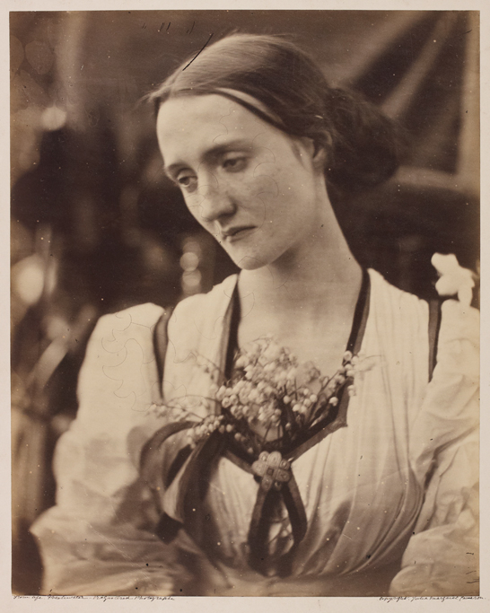'Mrs Herbert Fisher', 1868, Julia Margaret Cameron, The Royal Photographic Society Collection © National Media Museum, Bradford / SSPL. Creative Commons BY-NC-SA