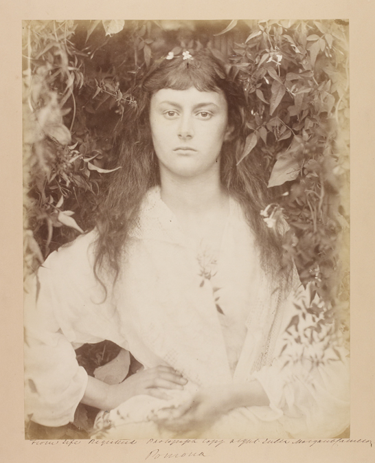 'Pomona (Alice Liddell)', 1872, Julia Margaret Cameron, The Royal Photographic Society Collection © National Media Museum, Bradford / SSPL. Creative Commons BY-NC-SA