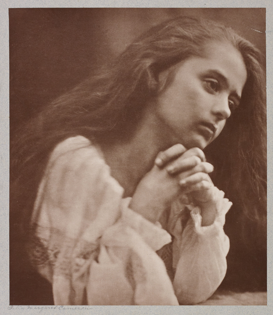 'Prayer', c. 1872, Julia Margaret Cameron, The Royal Photographic Society Collection © National Media Museum, Bradford / SSPL. Creative Commons BY-NC-SA