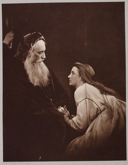 'Prospero and Miranda', 1868, Julia Margaret Cameron, The Royal Photographic Society Collection © National Media Museum, Bradford / SSPL. Creative Commons BY-NC-SA