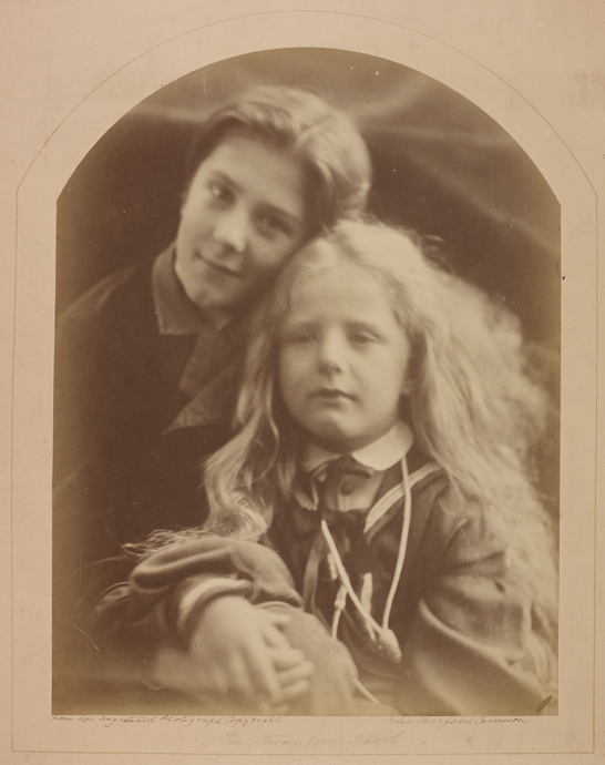 'Return from School (Lionel and Henry Holland)', 1872, Julia Margaret Cameron, The Royal Photographic Society Collection © National Media Museum, Bradford / SSPL. Creative Commons BY-NC-SA