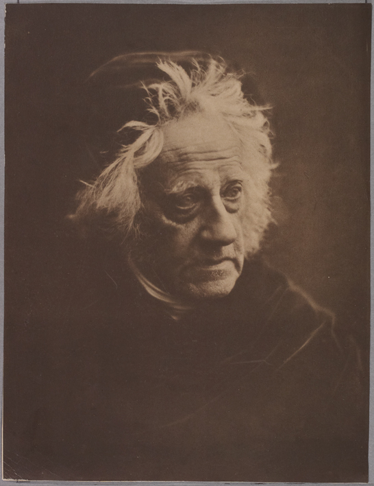 'Sir John Herschel', 1867, Julia Margaret Cameron, The Royal Photographic Society Collection © National Media Museum, Bradford / SSPL. Creative Commons BY-NC-SA